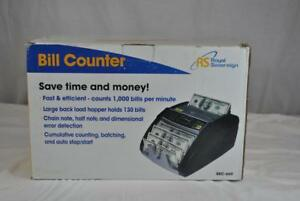 Royal Sovereign Rbc 660 Electric Bill Counter 849023030508