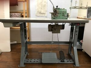 Merrow M 2dn 1purl Stitch Machine Used excellent Condition Serviced By Merrow