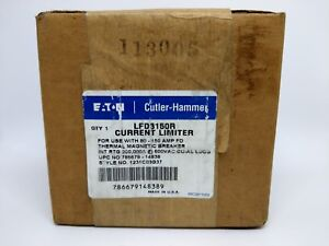 Eaton Cutler hammer Lfd3150r Current Limiter Use W 80 150a Fd Thermal Mag Brk