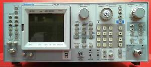 Tektronix 2753p 100 Hz To 1 8 Ghz Used Programmable Spectrum Analyzer B020120