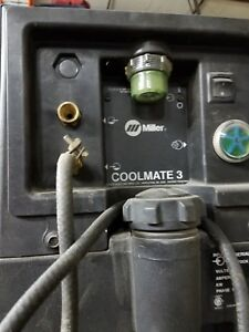 Miller Coolmate 3 115v Tig Torch Water Cooler 043007