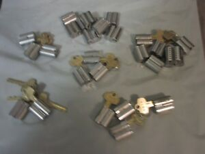 Falcon Interchangeable Cores F Keyway 28 Cores 6pin Used