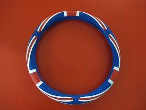 Silicone Uk Flag Steering Wheel Cover For Mini Cooper R53 R54 R56 R57 R58 Color