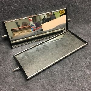 Pair West Coast Towing Mirror Inserts W Steel Backers 16 X 6 1 2 B Grade 34713