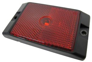 Red Rectangle Led Marker Clearance Light Truck Trailer Rv