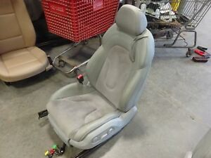 Oem Driver S Front Seat 2012 Audi Tt Convertible Leather Suede Power