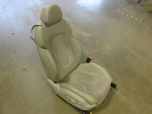 Oem Passenger S Front Seat 2012 Audi Tt Convertible Leather Suede Power