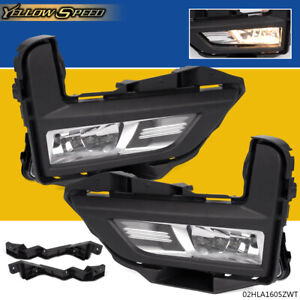 For Nissan Rogue 2017 2018 S Sl Sv Fog Light Lamp Set With Switch Bezel Wires