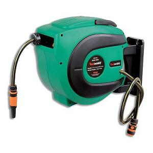 Reelworks Water Hose Reel Heavy Duty Retractable With 1 2 In X 50 Ft