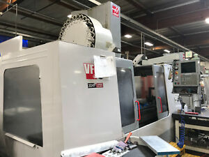 2001 Haas Vf 6 Cnc Mill 64 x32 Milling Machine Ct 50 W Renishaw Probe 30 atc