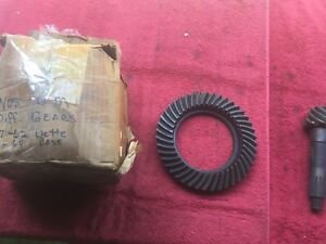 1955 64 Chevy 1957 62 Corvette Nos Gm 5 38 P Case Posi Ring And Pinion Gears