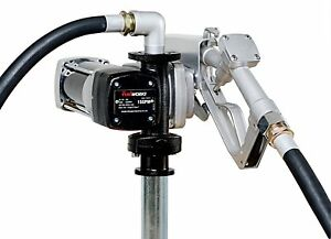 Fuelworks 10305708a 12v 15gpm Fuel Transfer Pump Kit With 14 Hose