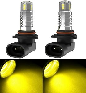 Led 30w 9005 Hb3 Yellow 3000k Two Bulb Light Drl Daytime Replacement Lamp Rally