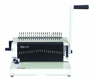 Super21 Binding Machine For Plastic Comb Brand New Regular 450