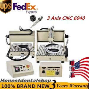 1500w 3 Axis 6040 Water cooling Cnc Router Engraver Drilling Milling Machine Top