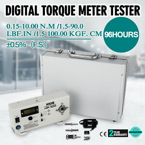 In Box Torquemeter Hp 100 Digital Torque Meter Torsiometer