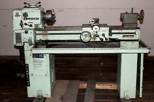 Clausing 5914 13x36 Metal Lathe Variable Speed 3 Jaw Runs Well Watch Video