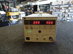 Hp Agilent Keysight 6033a System Power Supply 20v 30a 200w