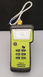 Tpi 342 Digital Thermometer Type K J Thermocouple Thermometer