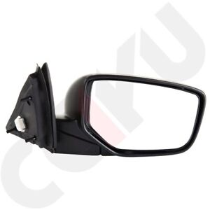 For 2008 2012 Honda Accord Coupe Passenger Side View Power Mirror Manual Fold