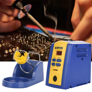 Fx 951 Solder Iron Electric Rework Soldering Station With T12 k Iron Tip Holder