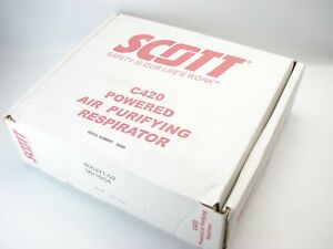 Scott C420 Papr Powered Air Purifying Respirator 805371 02 b541 C1