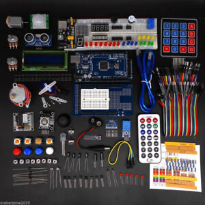 For Arduino Mega 2560 Ultimate Starter Learning Kit 180 Component Included Diy
