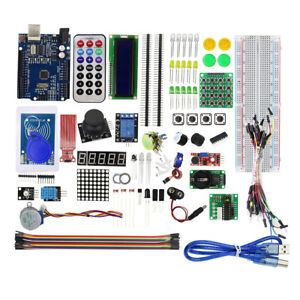Upgraded Version Rfid Starter Learning Kit Iot Remote Control For Arduino Uno_r3