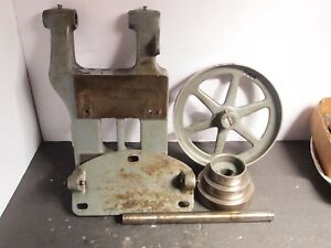 South Bend 9 Lathe Countershaft Motor Mount Drive Assembly Used
