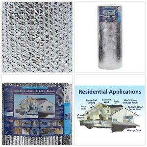 Double Reflective Radiant Barrier Insulation Roll