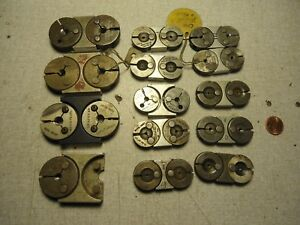 Thread Ring Gages Lot Of 27