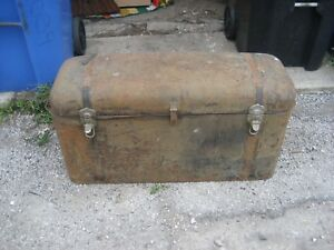 Vintage Antique Auto Metal Car Trunk Packard Buick Ford Model A T Chevy Cadillac