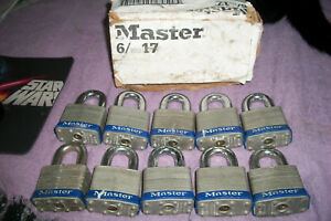 Heavy Duty Master Lock 17 See Measurements In The Closeup total Of 10