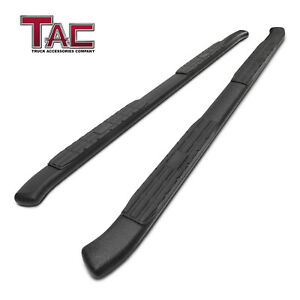 Texture Black Side Step For 2019 Dodge Ram 1500 Crew Cab Nerf Bar Running Board