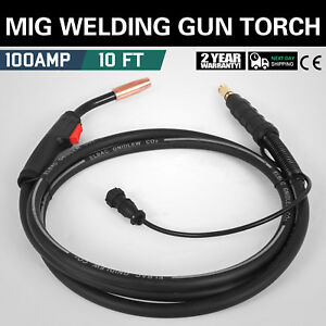 Lincoln Welder Welding Gun Parts Torch Stinger Replacement 3m 100a New Great