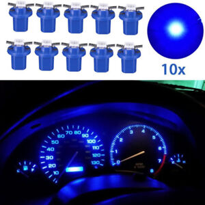 10pcs T5 B8 5d 5050 1smd Led Car Dashboard Light Bulb Panel Lamp Auto Accessory