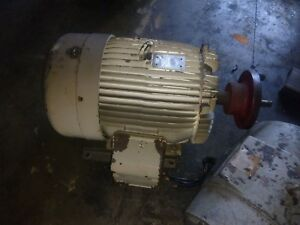60 Hp Toshiba Premium Efficiency Electric Motor 1775 Rpm 364t Frame Tefc