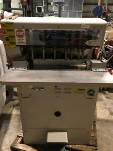 Used Challenge Ms 10a Multi head Paper Drill