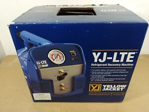 Ritchie Yellow jacket Yj lte Series Recovery Machine 95730