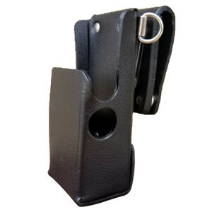 Case Guys Mr8608 3awd Leather Holster For Motorola Apx 6000 8000 Two Way Radios