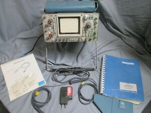 Tektronix 464 Oscilloscope With Manual And Probes