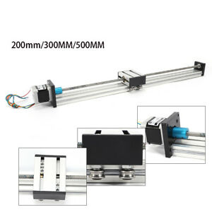 500mm Linear Actuator Linear Guide Slide Rail Guide Accurate Stepping Motor Usa
