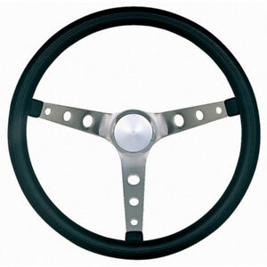 Grant 968 0 Brushed Stainless 15 In Classic Nostalgia Steering Wheel