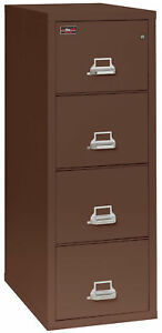 Fireking Fireproof 4 drawer 2 hour Rated Vertical File Cabinet