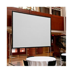 Draper Ultimate Matt White Portable Projection Screen 161 Diagonal 16 9