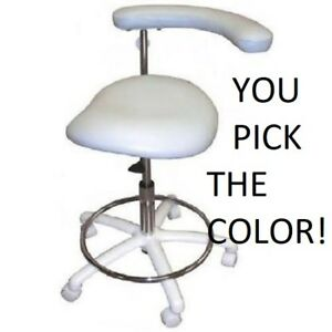 New Galaxy 2065 Contoured Dental Assistant s Hygienist Seat Stool Chair