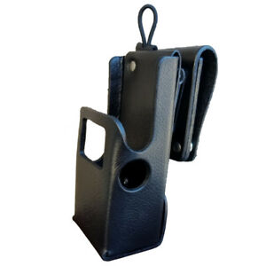 Case Guys Mr8607 3aw Hard Leather Holster For Motorola Apx 6000 8000 Radios