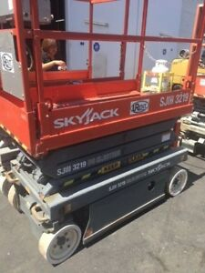 2008 Skyjack Electric 19 Scissorlift 180 To 480 Hrs Manlift jlg genie upright