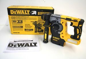 Unused Dewalt 1 26mm Sds Rotary Hammer Bare Tool Only Dch273b In Box W manual