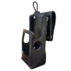 Case Guys Mr8606 3awd Hard Leather Holster For Motorola Apx 6000 8000 Radios
